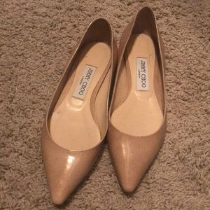 Jimmy Choo Shoes - Jimmy Choo Pointed Toe Flats NWOT